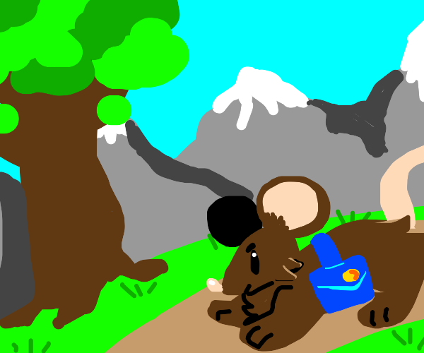 Mouse on an epic journey