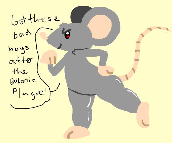 Rat gains thicc legs