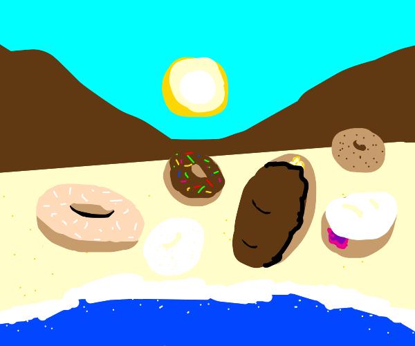 Donut Beach???
