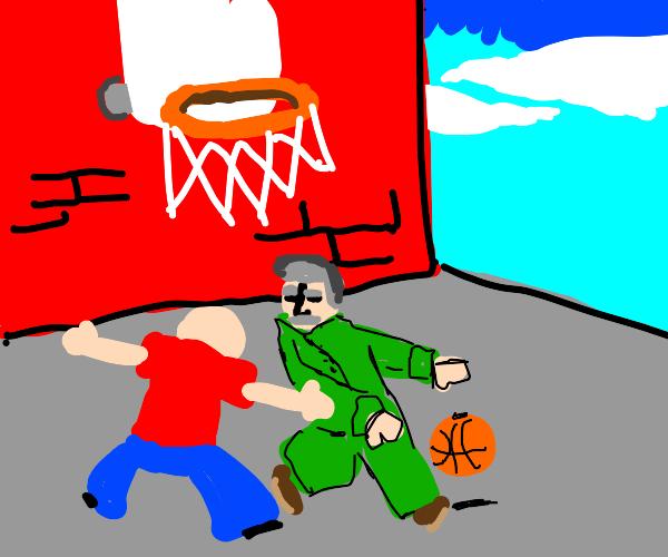 B-ballin with Stalin
