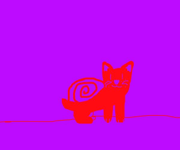 Cat snail