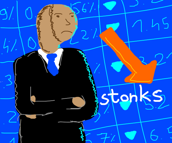 The Stonk Market Crashed :/