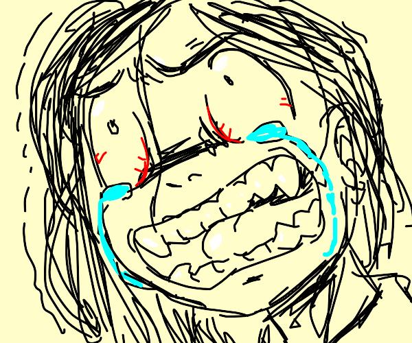 Crying/Angry girl