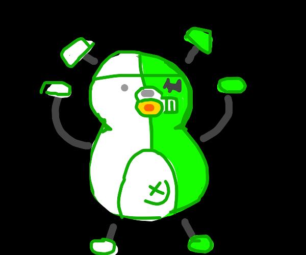 Monokuma as a robot