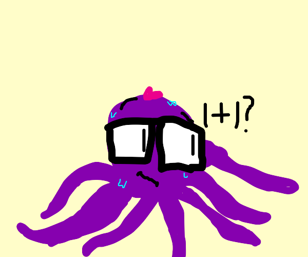 Octopus asking for math