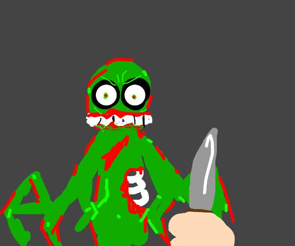 POV: Zombie tries to eat you.