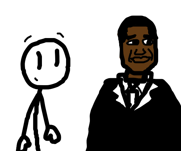 Henry Stickman and Barack Obama think.