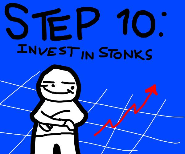 Step 9: Go in debt