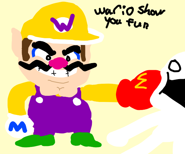 Wario is a Bully