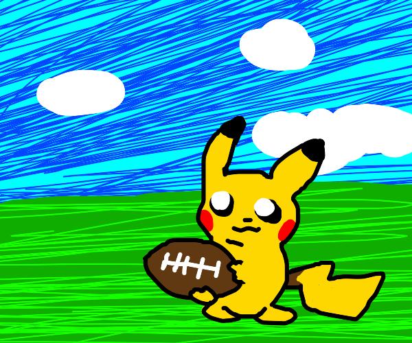 pikachu wants to play football
