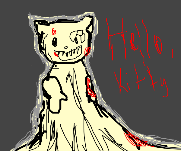 Hello Kitty by Junji Ito