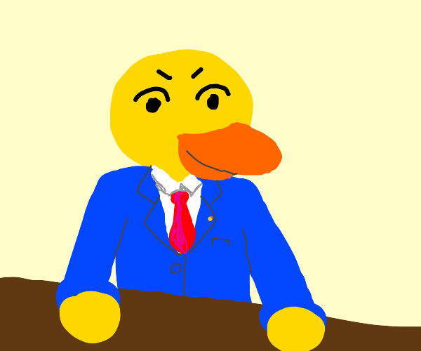 Duck Becomes a Lawyer