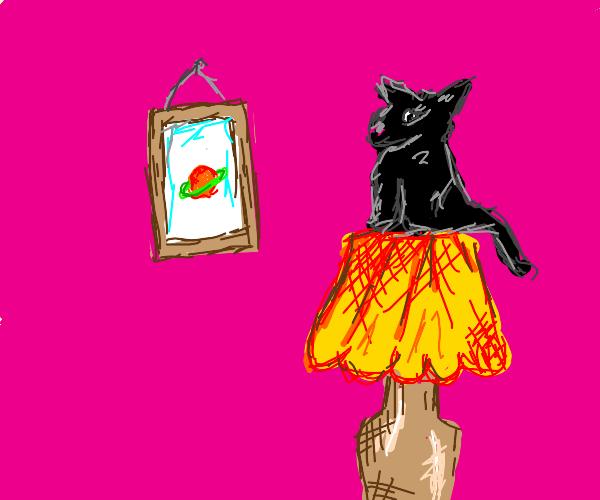Cat on the lam