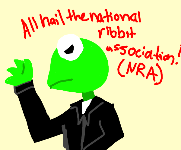 Kermit heading to National Ribbit Association