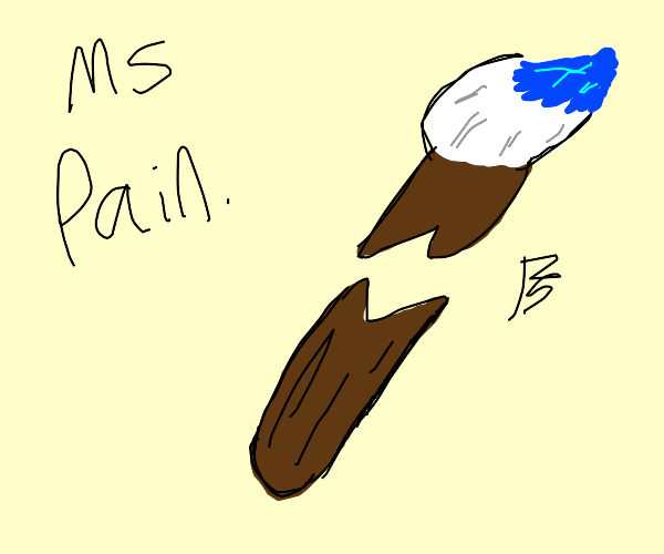 MS Paint gone wrong