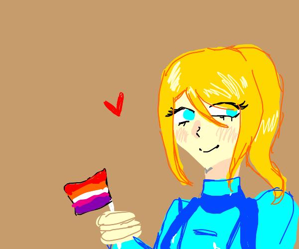 Zero Suit Samus is a Lesbian