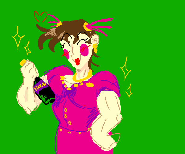Crossdressing Joseph Joestar