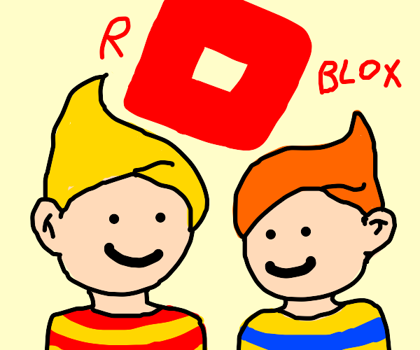 Lucas & Claus(Mother 3) play Roblox