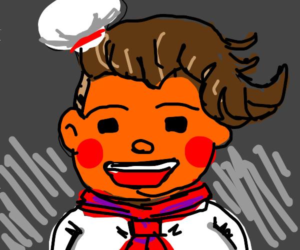 teruteru hanamura but he's orange