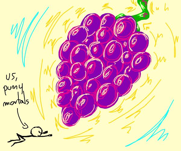 Praise the holy grape