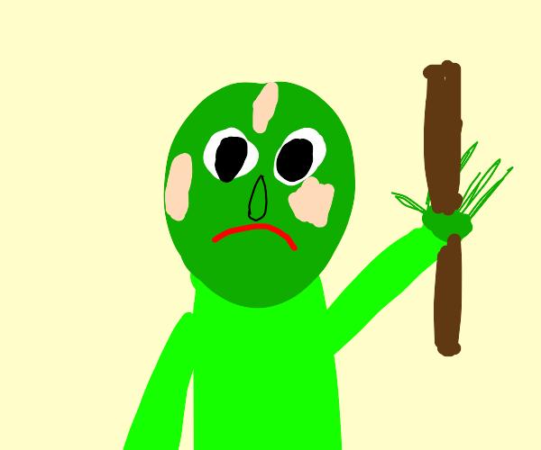 Baldi is a zombie now