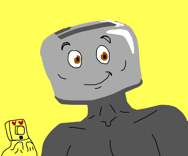 The Brave Little Toaster but he is B U F F