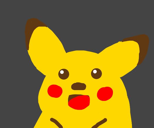 A wild pikachu