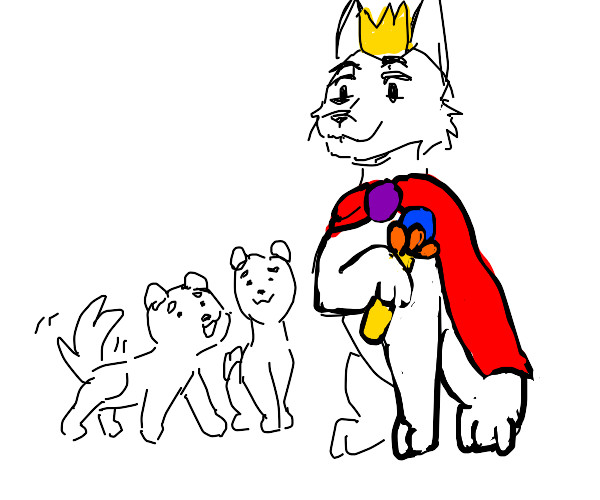 dog king of puppies