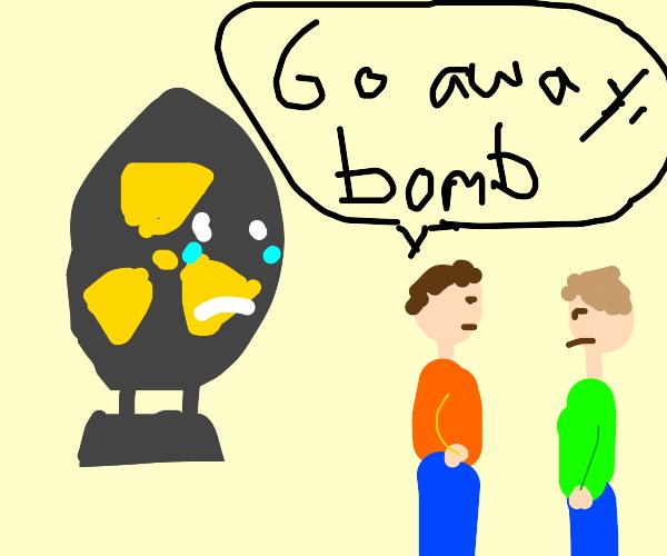 atom bomb just wants friends