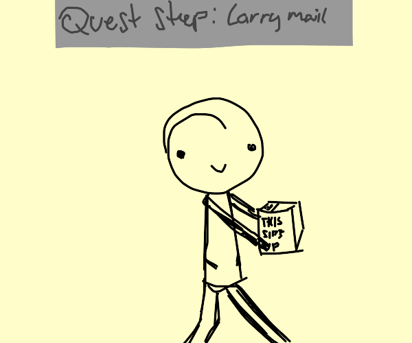 Mail Carrier Questing