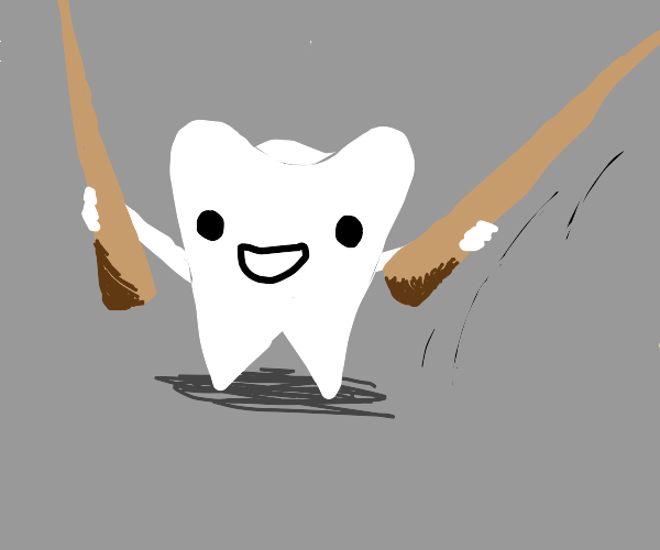 Tooth takes up chopstick, finds new passion