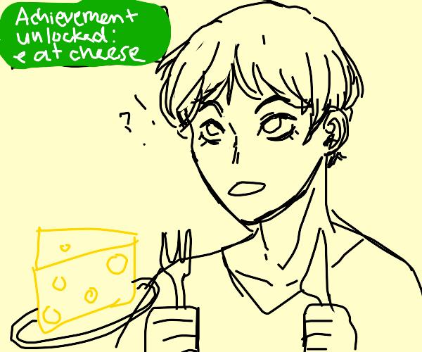 Xbox Acheivment EAT CHEESE