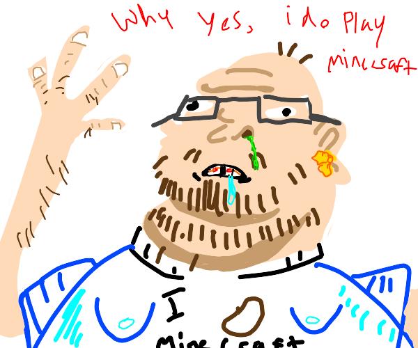 32 year old Minecraft gamer