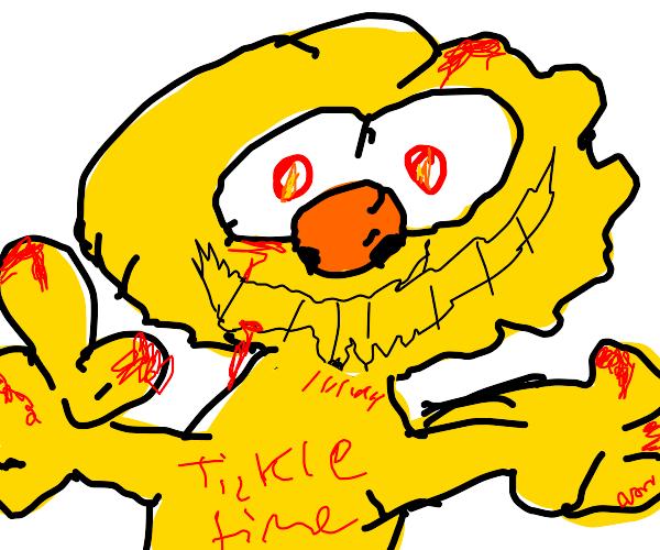 Tickle me Yellmo