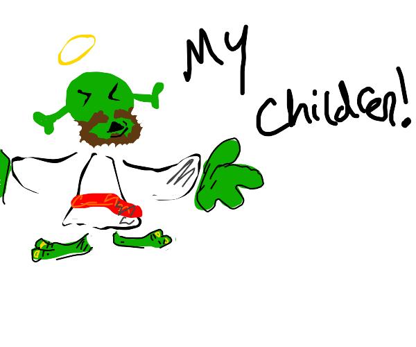Shrek is jesus