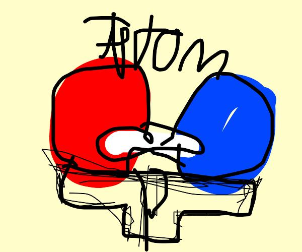 An atom and some underwear