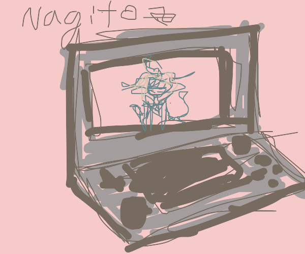 nagito on the ds haha please laugh