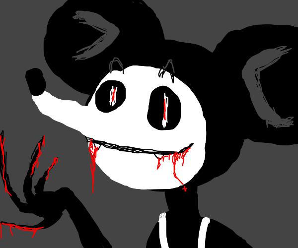 Scary Mickey