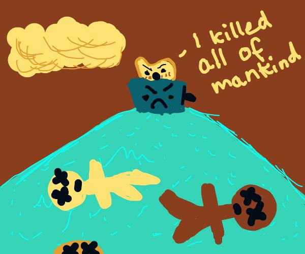 toaster singlehandedly kills off mankind