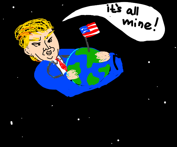 The U.S.A takes over the world