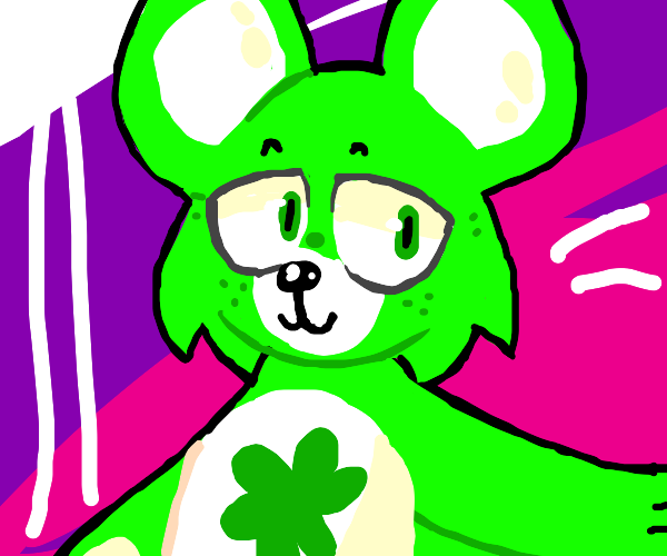The green carebear