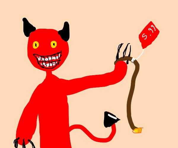 Demon sells a belt for 5.99