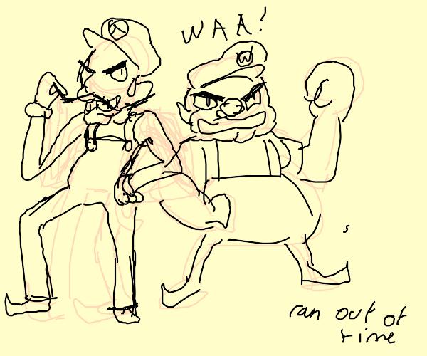 bootleg Mario and Luigi