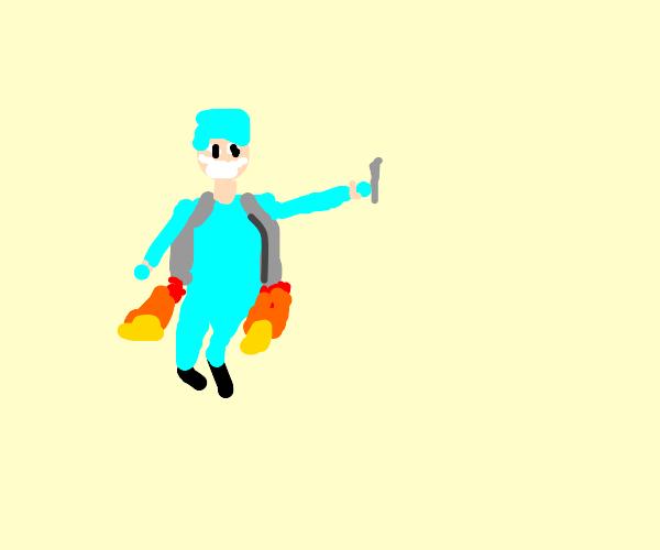 Rocket Surgeon Flying