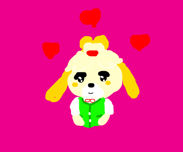 Isabelle loves you