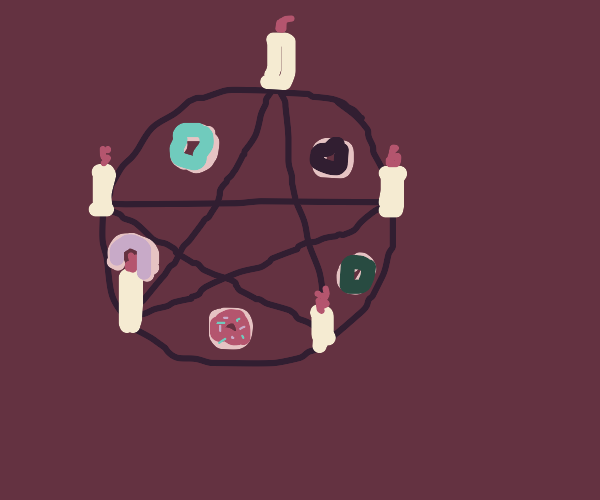 ritual for summoning donuts