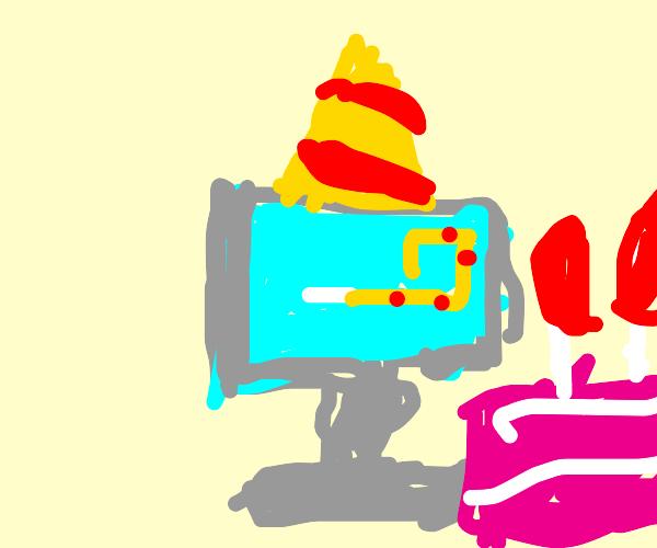 happy birthday computer
