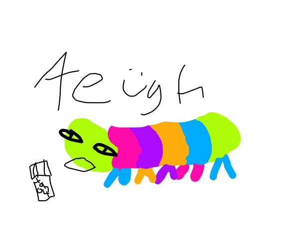 retarded catterpillar overdoses