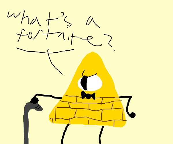 Elderly Bill Cipher