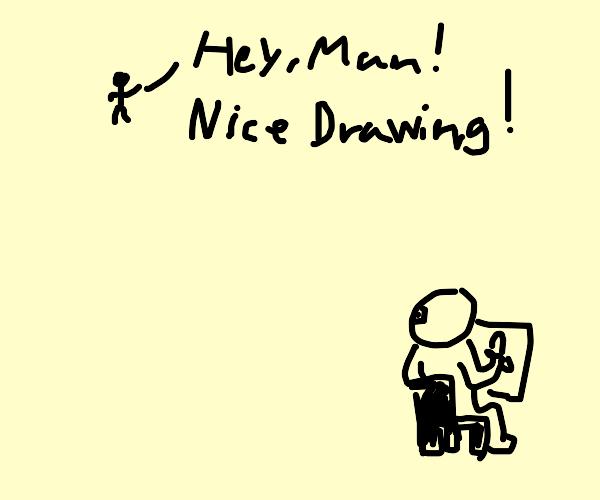 nice drawing!